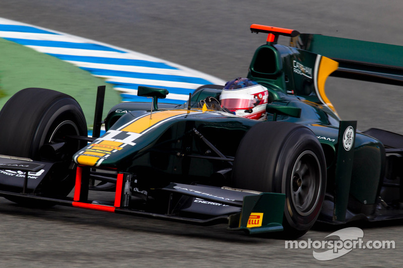 Simon Trummer, Caterham Racing