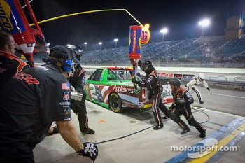 Pit stop for Tim George Jr., Richard Childress Racing Chevrolet