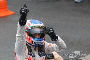 1st place Jenson Button, McLaren Mercedes