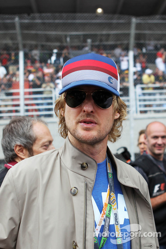 Owen Wilson, on the grid