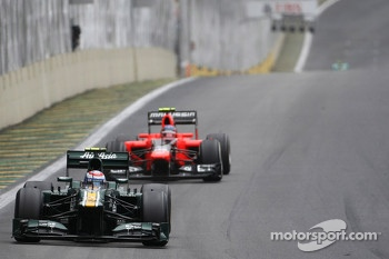 Vitaly Petrov, Caterham F1 Team and Charles Pic, Marussia F1 Team
