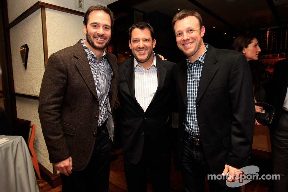 Tony Stewart, Jimmie Johnson, Kevin Harvick