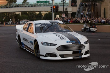 Ricky Stenhouse Jr. drives the 2013 Ford Fusion