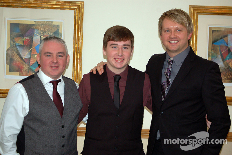 Ryan Dalziel gives Scottish karting star Ciaran Haggerty an all expenses paid trip to the 2013 Daytona 24