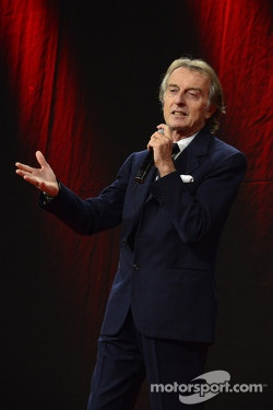 Luca di Montezemolo at the Ferrari Gala