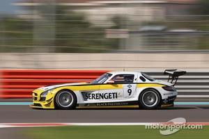 #9 Black Falcon Mercedes SLS AMG