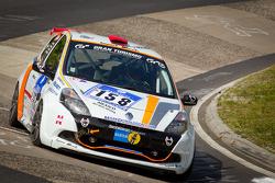 #158 Schlaug Motorsport Renault Clio: Xavier Lamadrid Sr., Xavier Lamadrid Jr., Max Girardo, Mark Donaldson