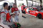 Jamie Whincup and Tom Kristensen