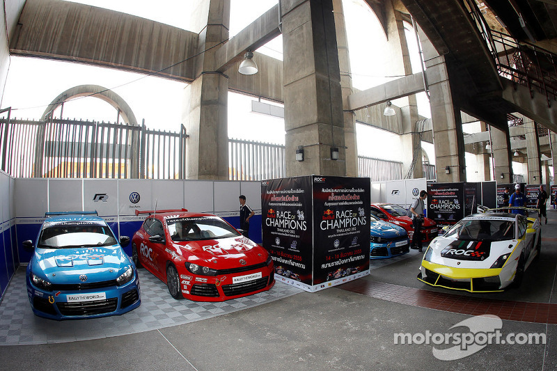 The ROC stable of cars