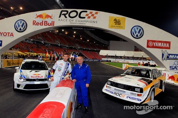 Sbastien Ogier and Stig Blomqvist