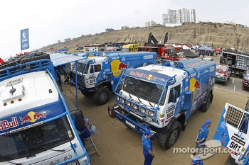The Kamaz Master team area