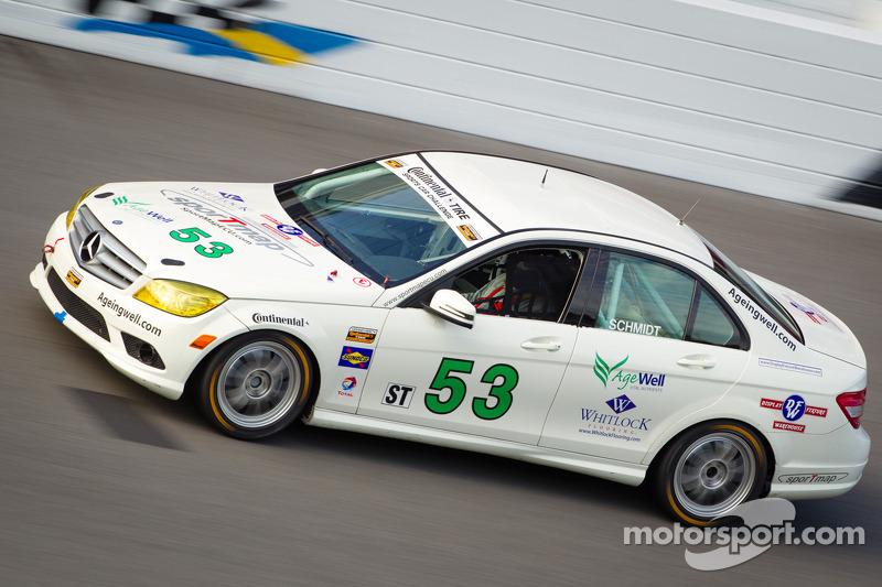 #53 Schmidt Motorsports Mercedes C300: Max Schmidt