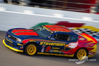 #9 Stevenson Motorsports Camaro GS.R: Matt Bell, John Edwards