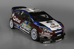 The Qatar M-Sport Ford Fiesta