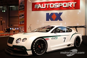Bentley Continental GT3 at the main stage
