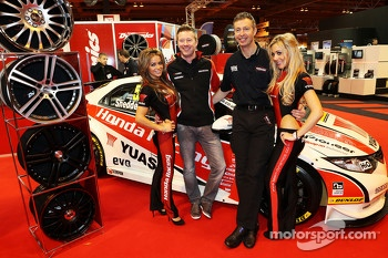 Gordon Shedden and Matt Neal, Honda BTCC drivers