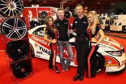 Gordon Shedden and Matt Neal, Honda BTCC drivers