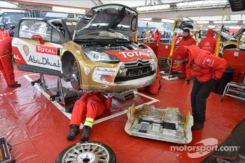Sébastien Loeb, Citroën DS3 WRC, Citroën Total Abu Dhabi World Rally Team