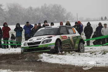 Essapekka Lappi and Janne Ferm, Skoda Fabia S2001