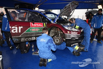 Juho Hanninen and Tomi Tuominen, Ford Fiesta WRC, Qatar M-Sport WRT