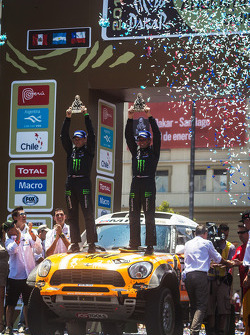 Third place in Car category Leonid Novitsky and Konstantin Zhiltsov
