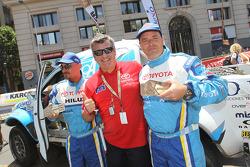 #306 Toyota: Lucio Alvarez, Bernardo Graue with Jean-Marc Fortin