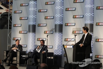 Brian France is the American CEO and Chairman of NASCAR and Michael Helton President of the NASCAR