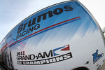 Brumos Racing Porsche hauler