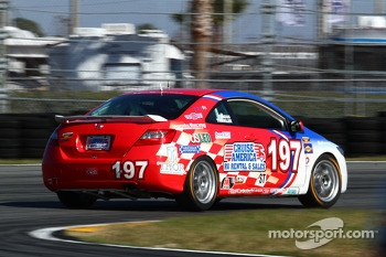 #197 RSR Motorsports Honda Civic SI: Corey Fergus, Owen Trinkler