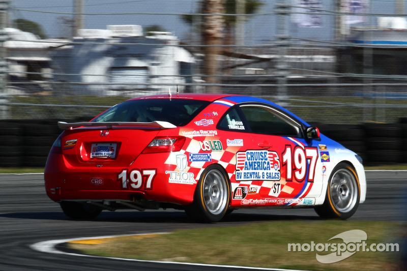 #197 RSR Motorsports Honda Civic SI: Corey Fergus, Owen Trinkler