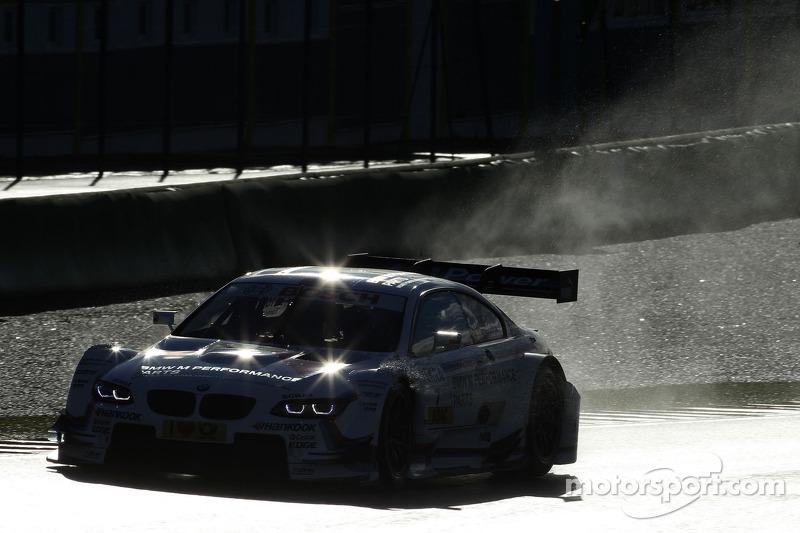 Timo Glock tests Martin Tomczyk's BMW M3 DTM