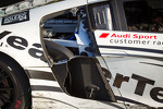 GT podium: damage on the Audi Sport Customer Racing/AJR Audi R8 Grand-Am