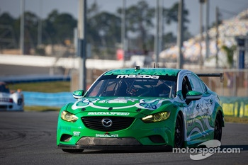 #25 Freedom Autosport Speedsource Mazda6 GX: Andrew Carbonell, Tom Long, Rhett O'Doski, Derek Whitis