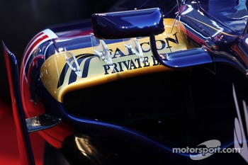 Scuderia Toro Rosso STR8 sidepod