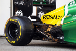Caterham CT03 rear suspension detail