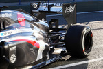 Nico Hulkenberg, Sauber rear suspension