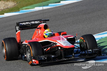 Luiz Razia, Marussia F1 Team MR02