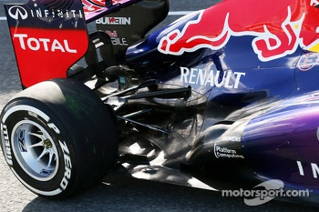 Mark Webber, Red Bull Racing RB9 rear suspension