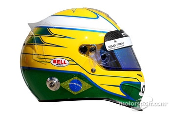 The helmet of Luiz Razia, Marussia F1 Team