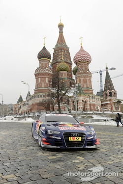 Audi unveils 2013 DTM car