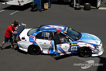#44 Mal Rose Racing Holden Commodore: Mal Rose, Adam Wallis, Aaron Tebb