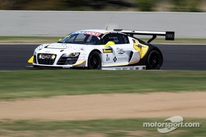 #1 Phoenix Racing Audi R8 LMS Ultra: Johan Kristoffersson, Harold Primat, Andreas Simonsen