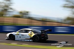 #1 Phoenix Racing Audi R8 LMS Ultra: Johan Kristoffersson, Harold Primat, Andreas Simonsen