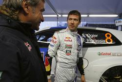 Sébastien Ogier and Carlos Sainz, Volkswagen Motorsport