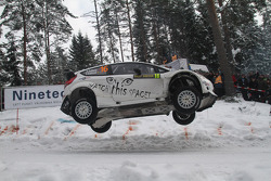 Henning Solberg and Stéphane Prévot, Ford Fiesta RS WRC, M-Sport Ford World Rally Team