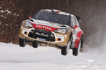 Sébastien Loeb and Daniel Elena, Citroën DS3 WRC, Citroën Total Abu Dhabi World Rally Team