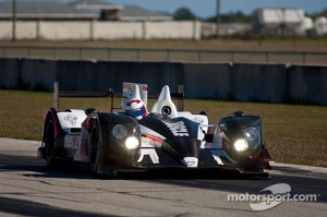 #6 Muscle Milk Pickett Racing HPD ARX-03c: Lucas Luhr, Klaus Graf