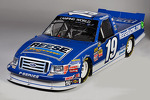 One of four Brad Keselowski Racing paint schemes for 2015