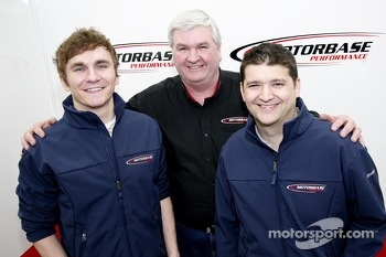Aron Smith, Mat Jackson and Team Principal David Bartrum