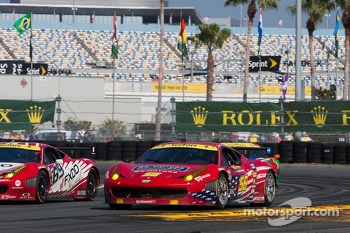 #56 AF-Waltrip Ferrari 458: Robert Kauffman, Rui Aguas